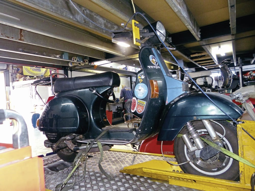 THE VESPA BIG BOX EXHAUST TEST – Scootering