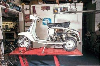 Never break down again? Simple Lambretta Vespa repairs