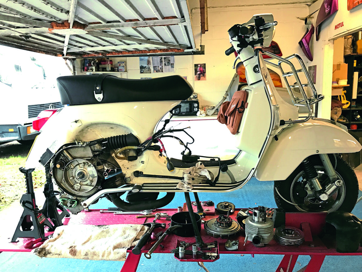 Tech Feature Vespa Tuning Upgrade Mega Feature Part 4 Scootering Magazine