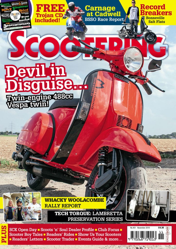 Scootering cover