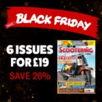 Black Friday Scootering magazine