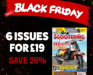 Black Friday Scootering magazine