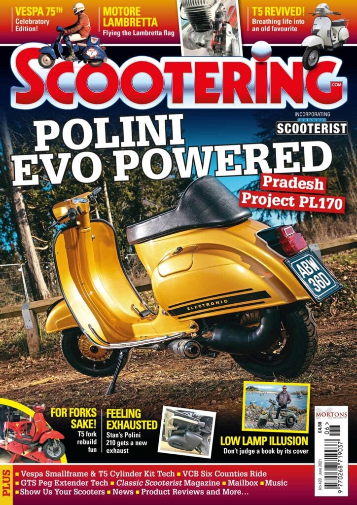 June issue of Scootering magazine